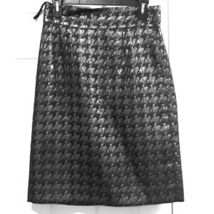 Alex Marie Metallic pencil skirt